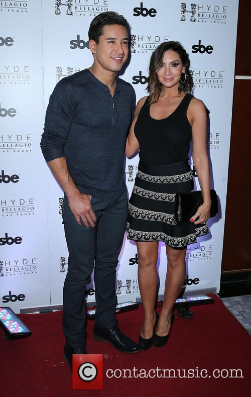Mario Lopez and Courtney Lopez 10
