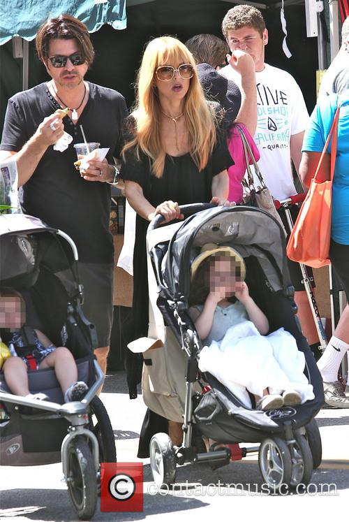 Rachel Zoe, Rodger Berman and Skyler Berman 2