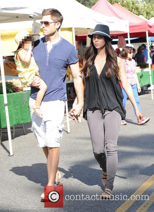 Roselyn Sanchez, Eric Winter and Sebella Winter 2