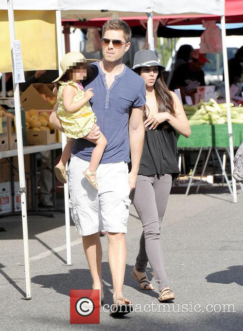 Roselyn Sanchez, Eric Winter and Sebella Winter 5
