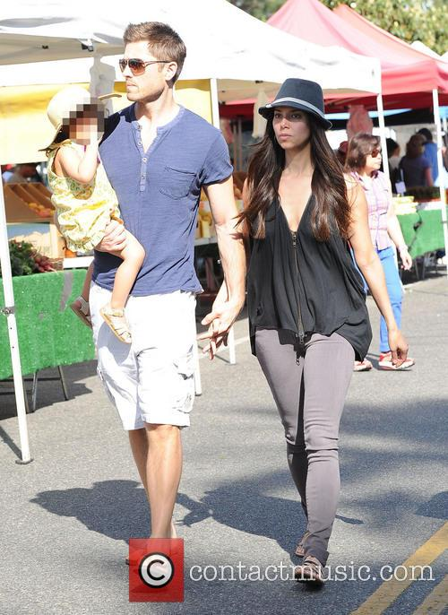 Roselyn Sanchez, Eric Winter and Sebella Winter 6