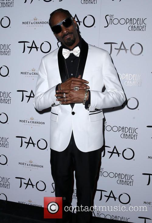 Snoop Dogg at TAO nightclub