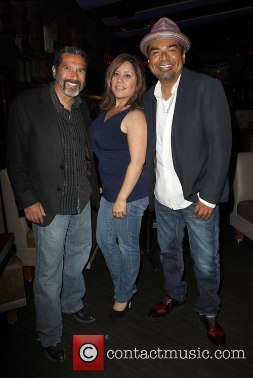 Steven Michael Quezada, Cherise Desiree Quezada and George Lopez 3