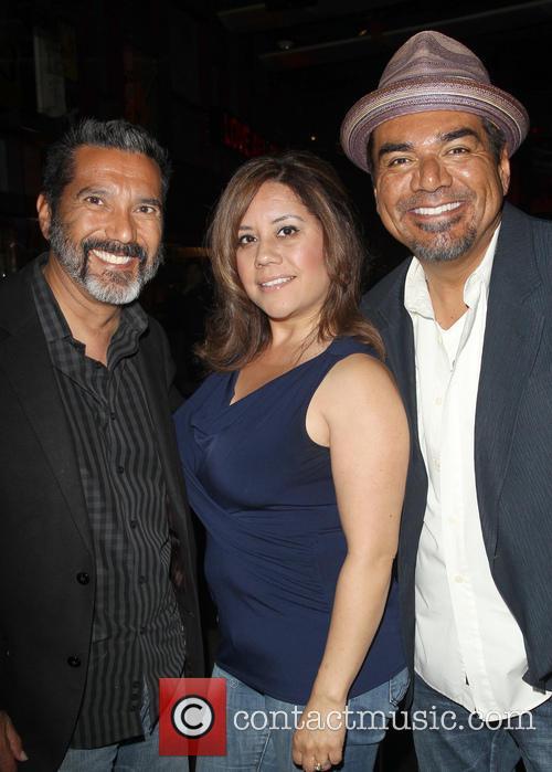Steven Michael Quezada, Cherise Desiree Quezada and George Lopez 4
