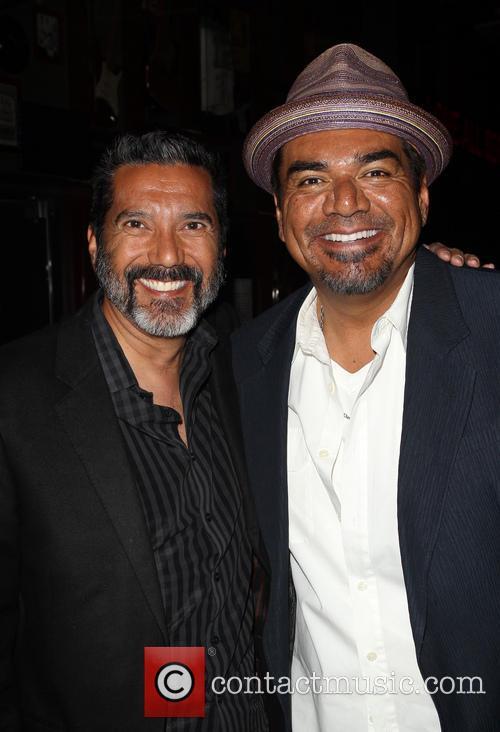 Steven Michael Quezada and George Lopez