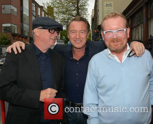 Dave Egan, Michael Flatley and Brian Shaw