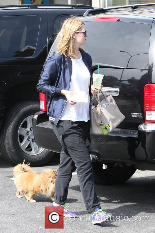 Mischa Barton and friends, shopping at Malibu Cross Creek with her dog