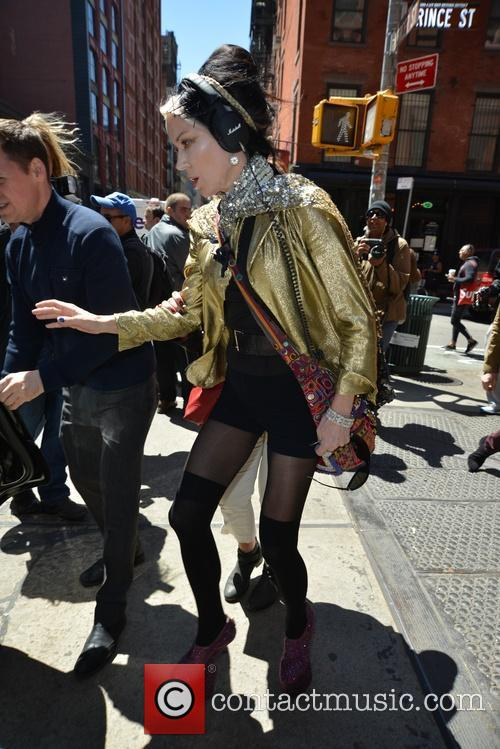 Daphne Guinness out and about in New York...