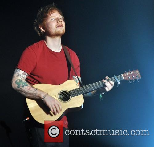Ed Sheeran In Concert