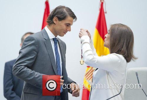Rafael Nadal and Ana Botella 5