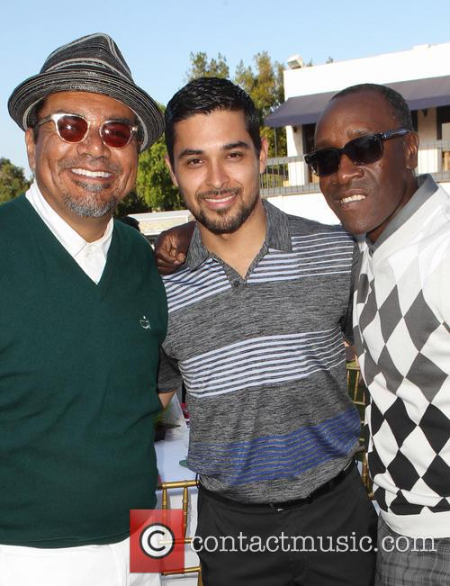 George Lopez, Wilmer Valderrama, Don Cheadle, Lakeside Golf Club
