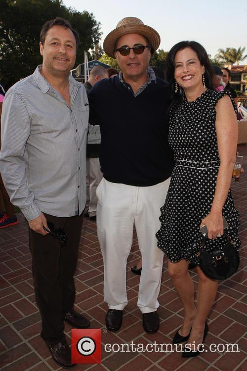 Larry Cole, Andy Garcia and Stacey Cole 6