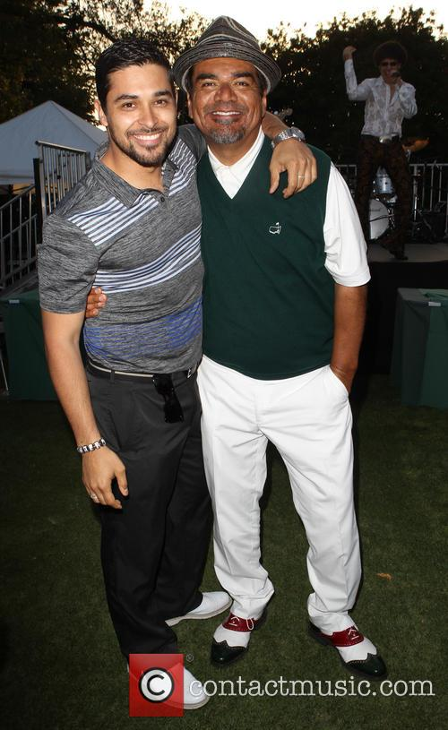 Wilmer Valderrama and George Lopez 8