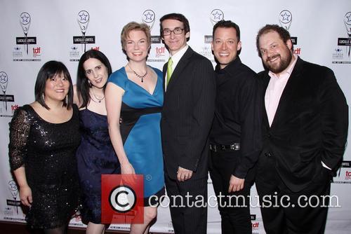 Ann Harada, Stephanie D'abruzzo, Jennifer Barnhart, Rick Lyon, John Tartaglia and Jordan Gelber 1