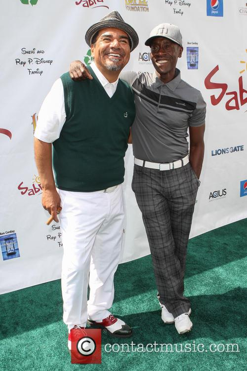 George Lopez and Don Cheadle 9
