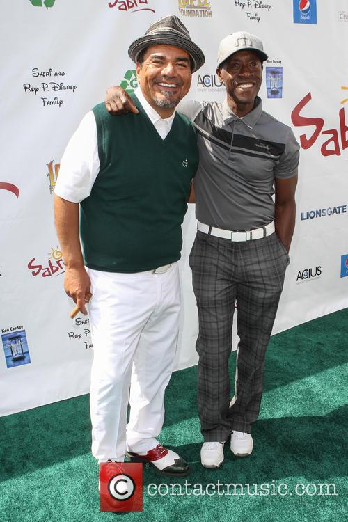 george lopez don cheadle george lopez celebrity golf 4181046