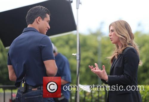 Jillian Michaels and Mario Lopez 8