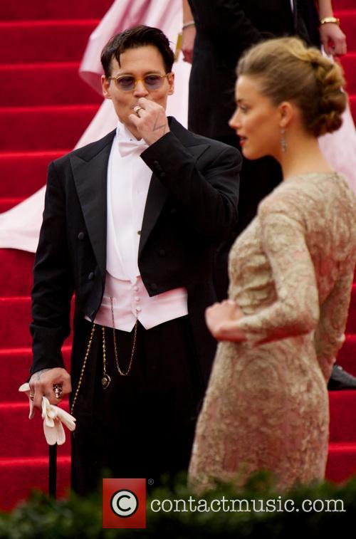 Johnny Depp and Amber Heard 1