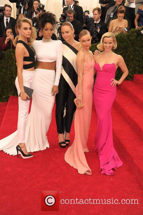 Cara Delevingne, Rihanna, Stella Mccartney, Kate Bosworth and Reese Witherspoon 2
