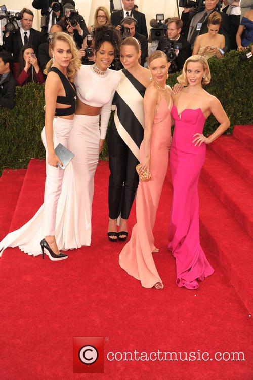 Cara Delevingne, Rihanna, Stella Mccartney, Kate Bosworth and Reese Witherspoon 1