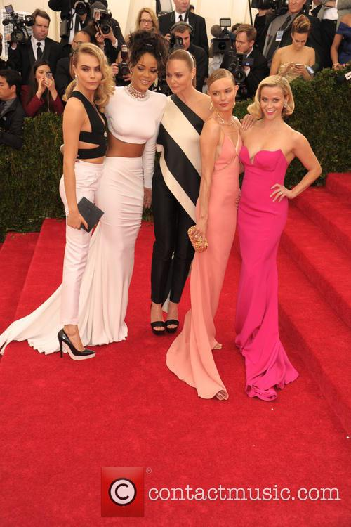 Cara Delevingne, Rihanna, Stella Mccartney, Kate Bosworth and Reese Witherspoon 4