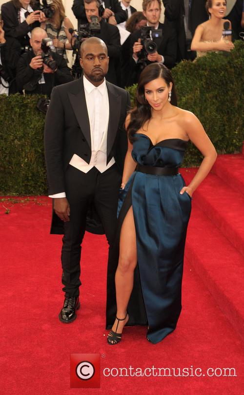 Kanye West and Kim Kardashian 3