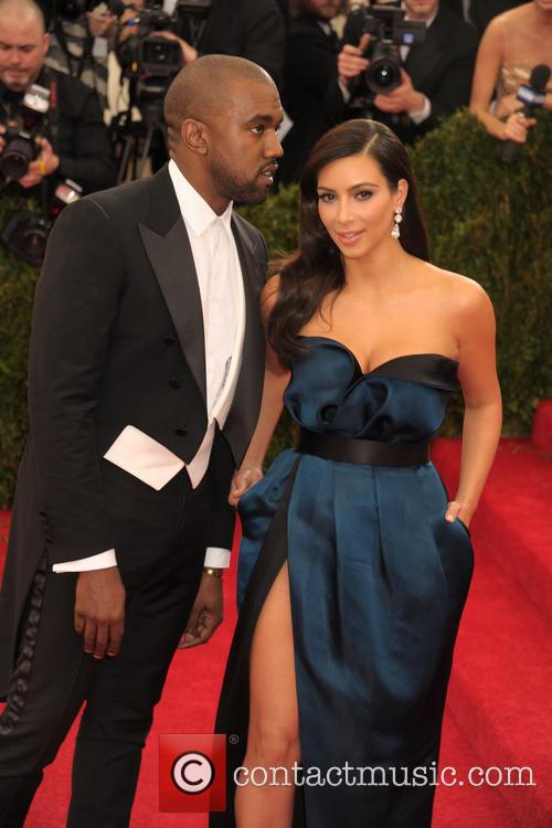 Kanye West and Kim Kardashian 5
