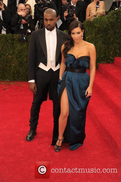 Kanye West and Kim Kardashian 7