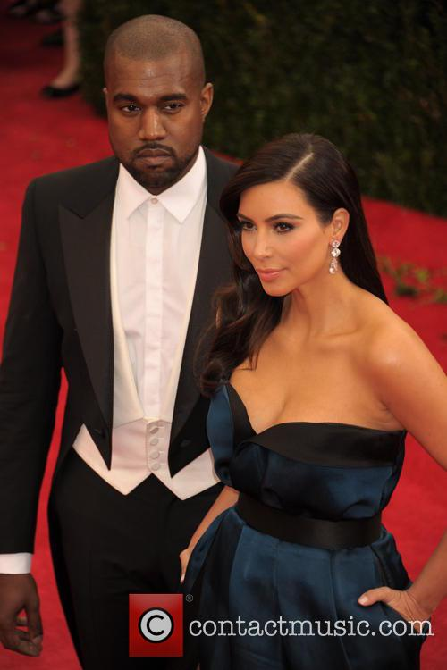 Kanye West and Kim Kardashian 12