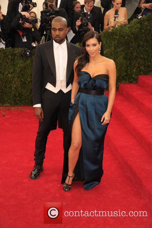 Kanye West and Kim Kardashian 13
