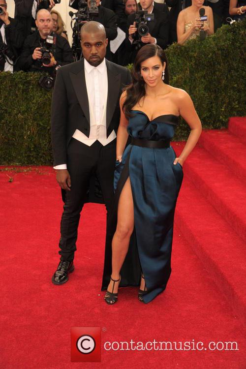 Kanye West and Kim Kardashian 14