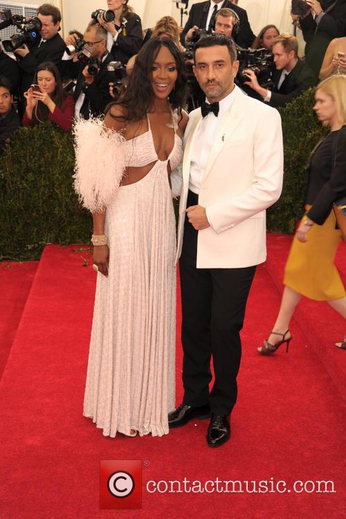 Naomi Campbell and Riccardo Tisci 3