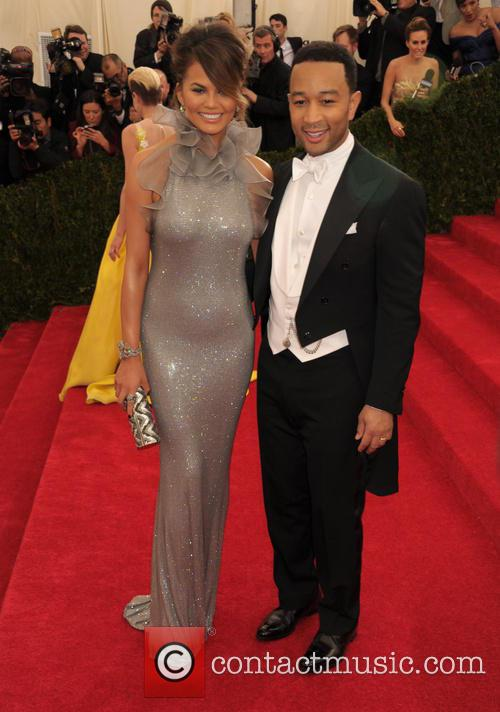 Christine Teigen and John Legend 5