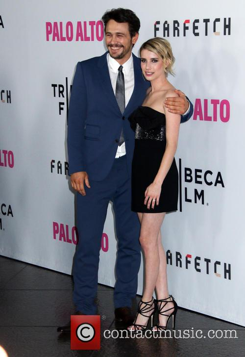 James Franco and Emma Roberts 4