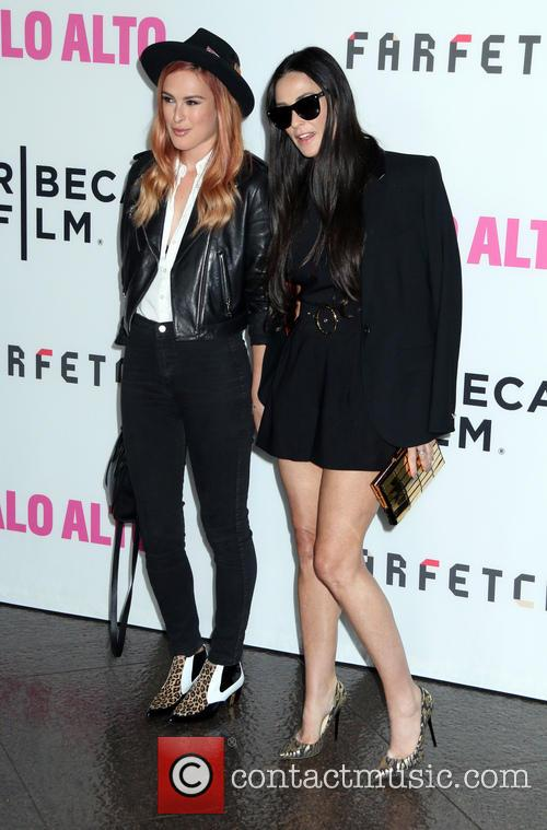 Rumer Willis and Demi Moore 5