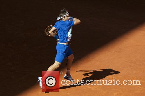David Ferrer of Spain vs. Albert Ramos of...