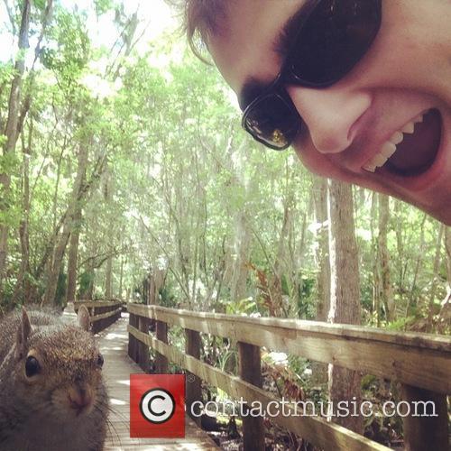 Squirrel Attack Selfie
