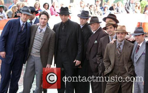 Zach Braff, Nick Cordero and And The Casts Of Bullets Over Broadway 9