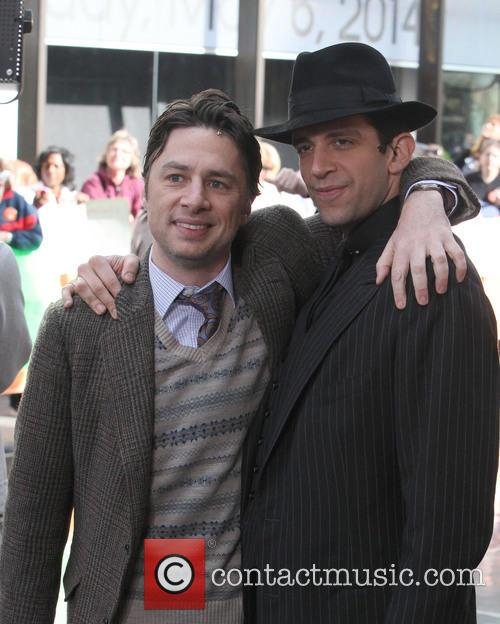 Zach Braff and Nick Cordero 2