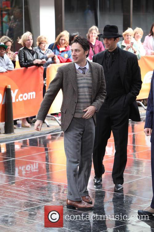 Zach Braff and Nick Cordero 4