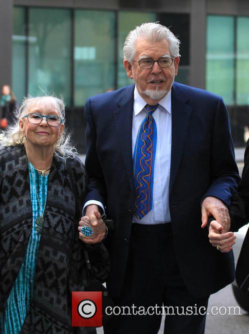 Rolf Harris and wife Alwen