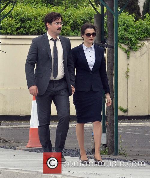 Colin farrell and Rachel Weisz 6