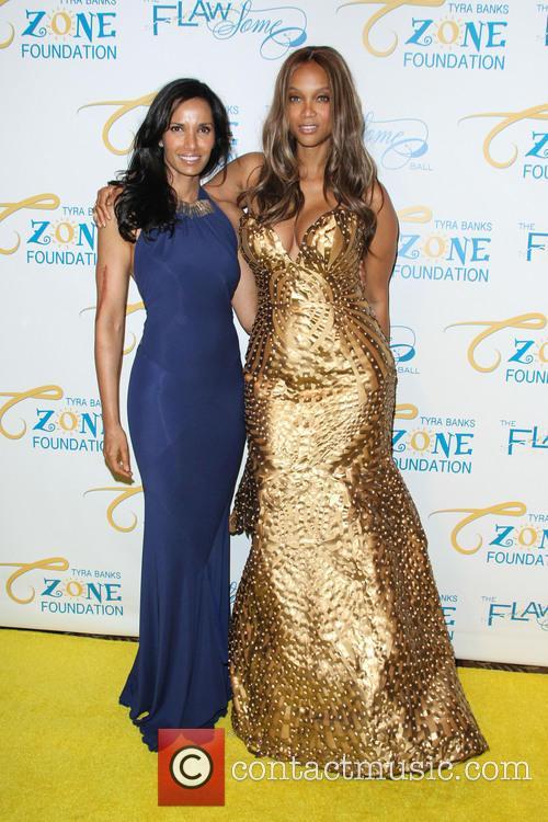 Padma Lakshmi and Tyra Banks 5