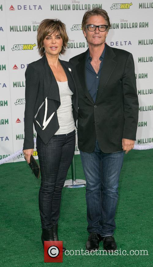 Lisa Rinna and Harry Hamlin 1