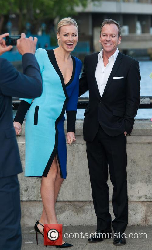 Kiefer Sutherland and Yvonne Strahovski