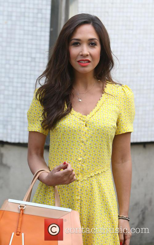 myleene klass celebrities at the itv studios 4183572