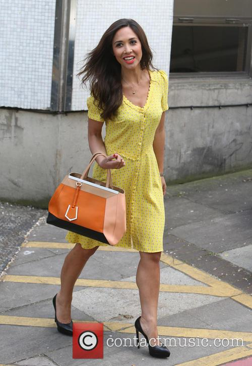 myleene klass celebrities at the itv studios 4183578