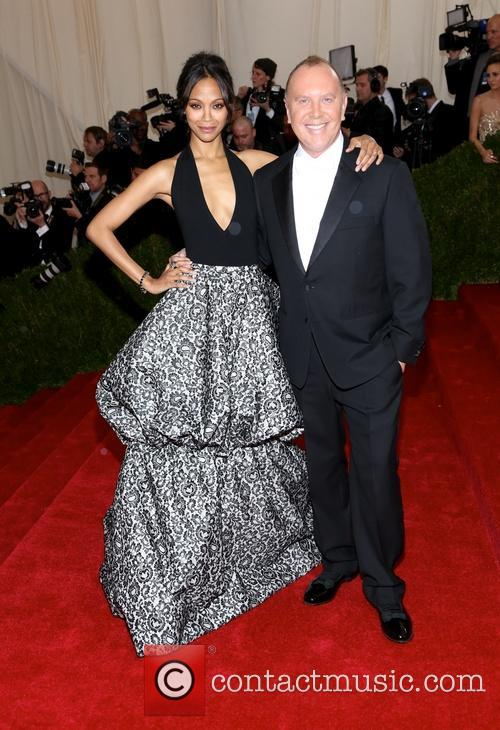 Zoe Saldana and Michael Kors 7