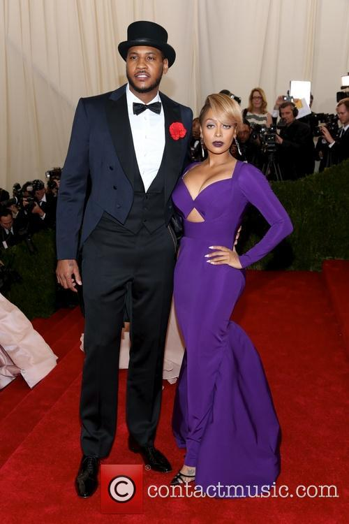 Lala Anthony and Carmelo Anthony 2