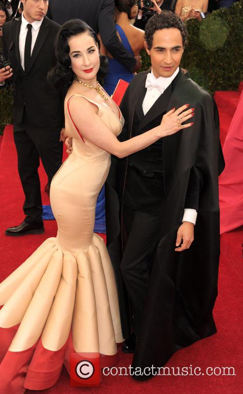 Dita Von Teese and Zac Posen 4